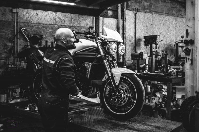 Photographe Lorient moto